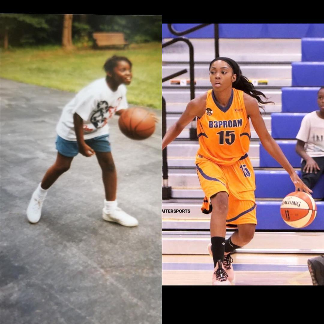 Then And Now: Even at 11 years old, Christina developed an overall approach to the game that was richly rooted in family, hard work, determination, and simply loving basketball. Today, at 32 years old Ms. Basketball knows the hard work has paid off throughout the years.