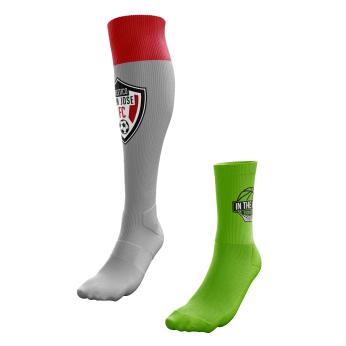 SOCKS   AS LOW AS:    $3.99/Athletic     OR:    $3.49/Short Socks