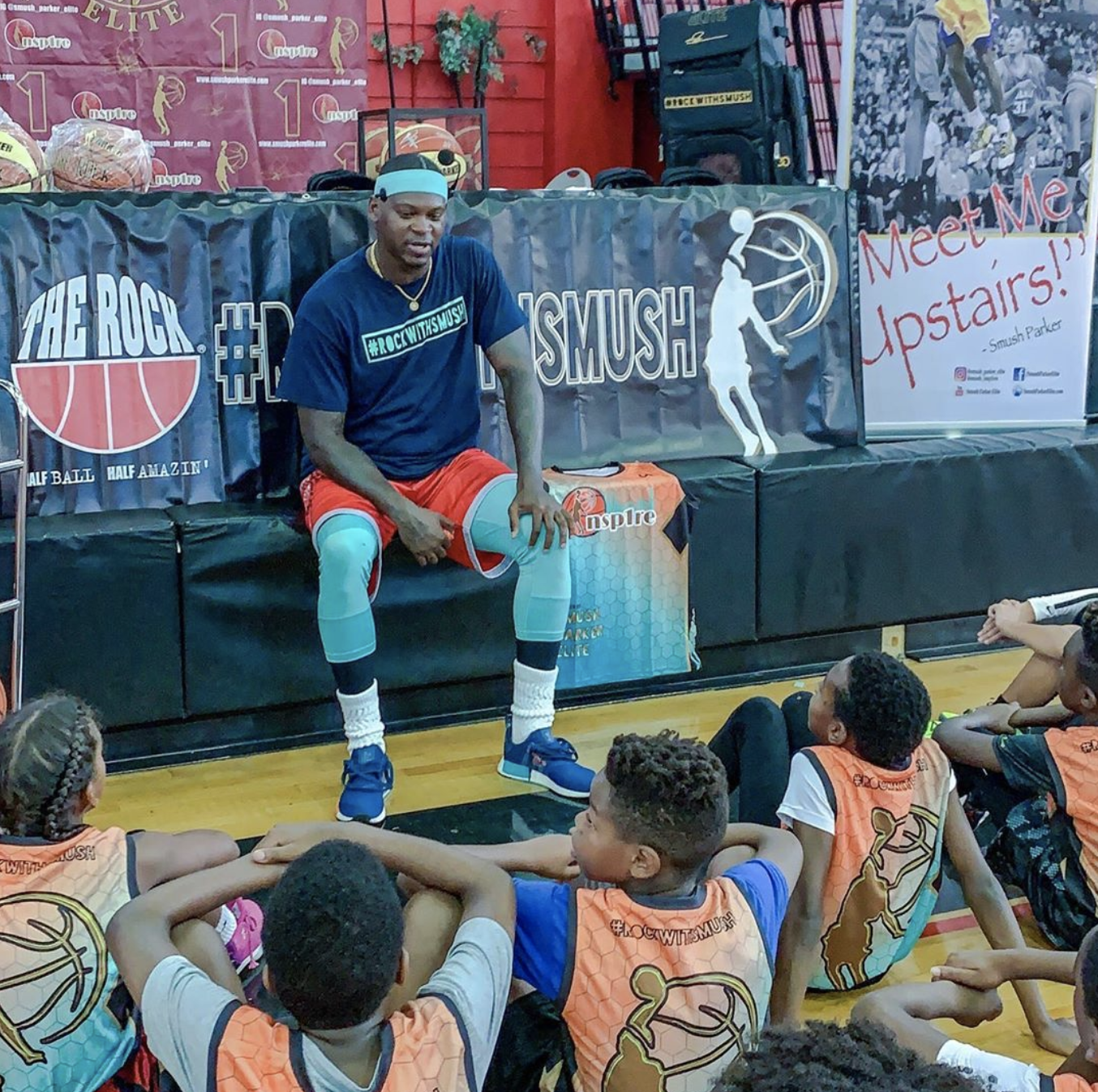 We've Got Your Back: In a recent free clinic in Fort Lauderdale, 16-year pro Smush Parker shared his inspirational story from Queens to the NBA and the importance of inspiring young basketball players from all around the United States.