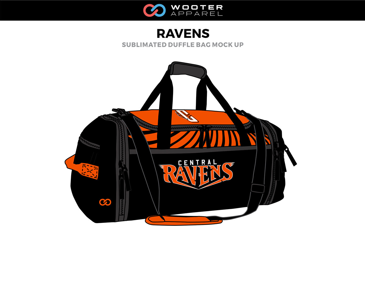 Custom Duffle Bags Wooter Arel Team Uniforms And