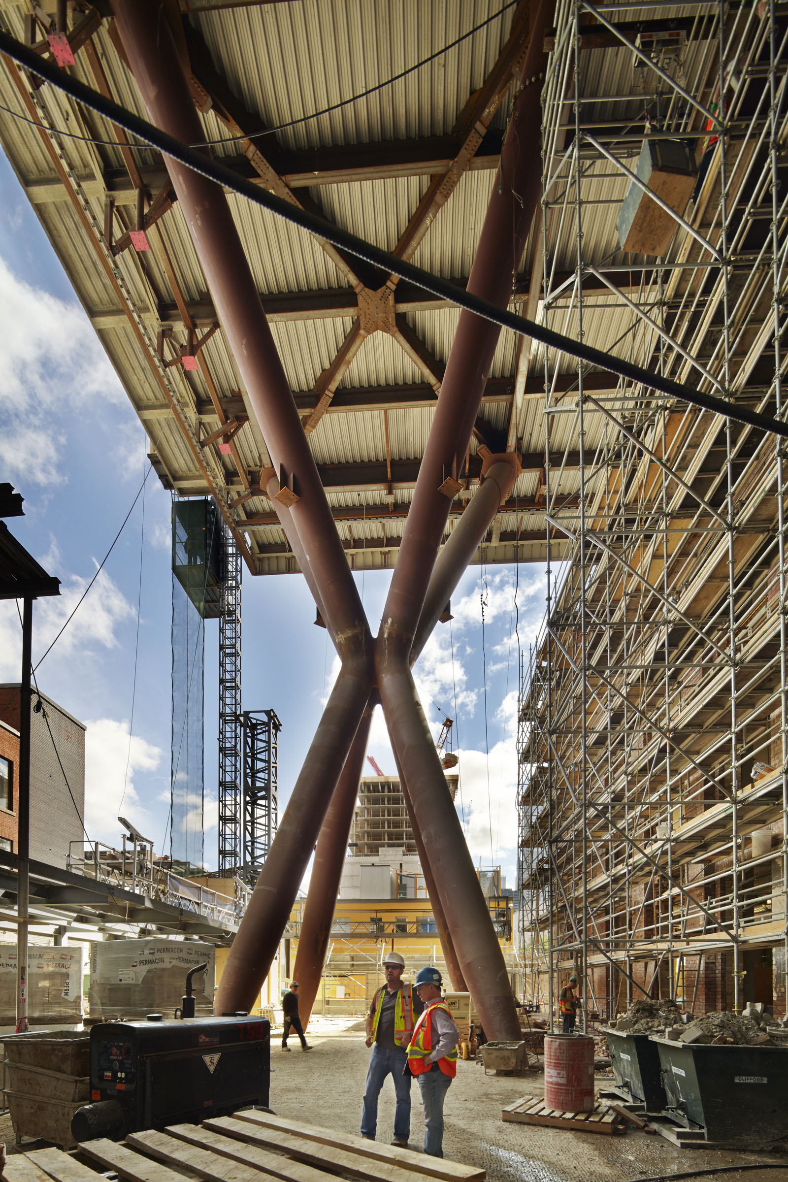 Queen Richmond Centre Construction