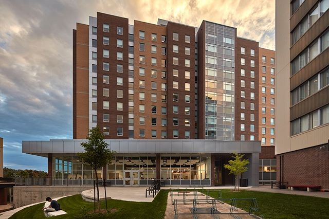 Claudette Millar Hall Residence - University of Waterloo Masrio Architects