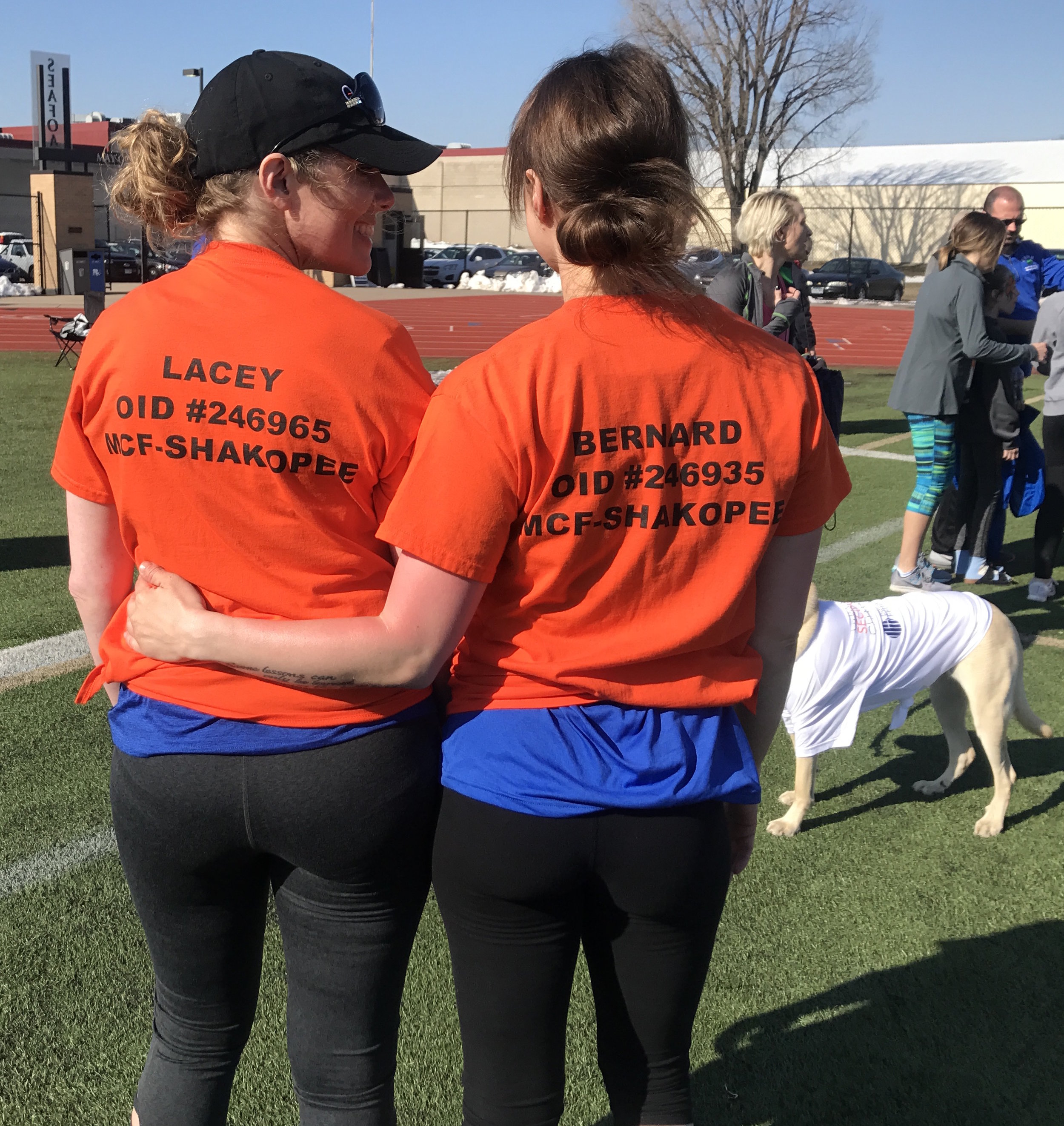 At the Second Chances 5K in April 2018