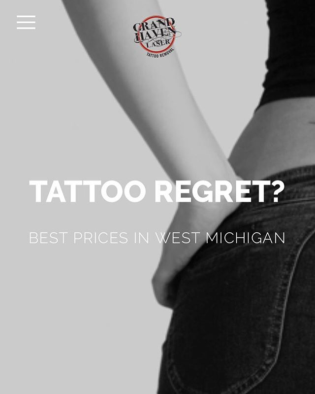 We're excited to announce that we've launched a new website for #ghlasertattooremoval !! Our new site is mobile responsive and easy to navigate on your mobile device! It includes testimonials from both clients and #tattooartists ! We'd love if you would check out the link in our bio! #lasertattooremoval #grandhaven #cleanslate