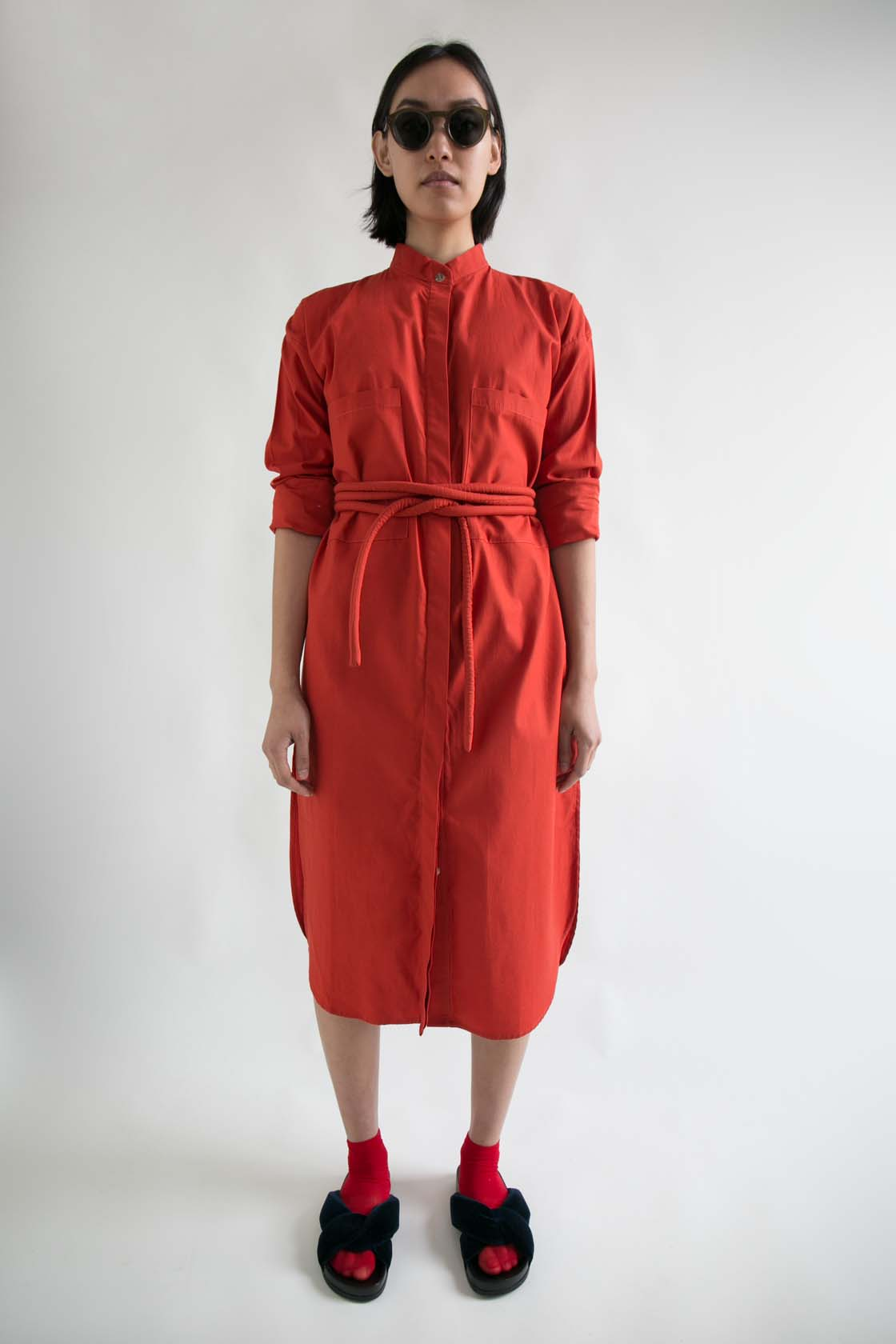 Dicet Button Up Dress  XS S M L  $350