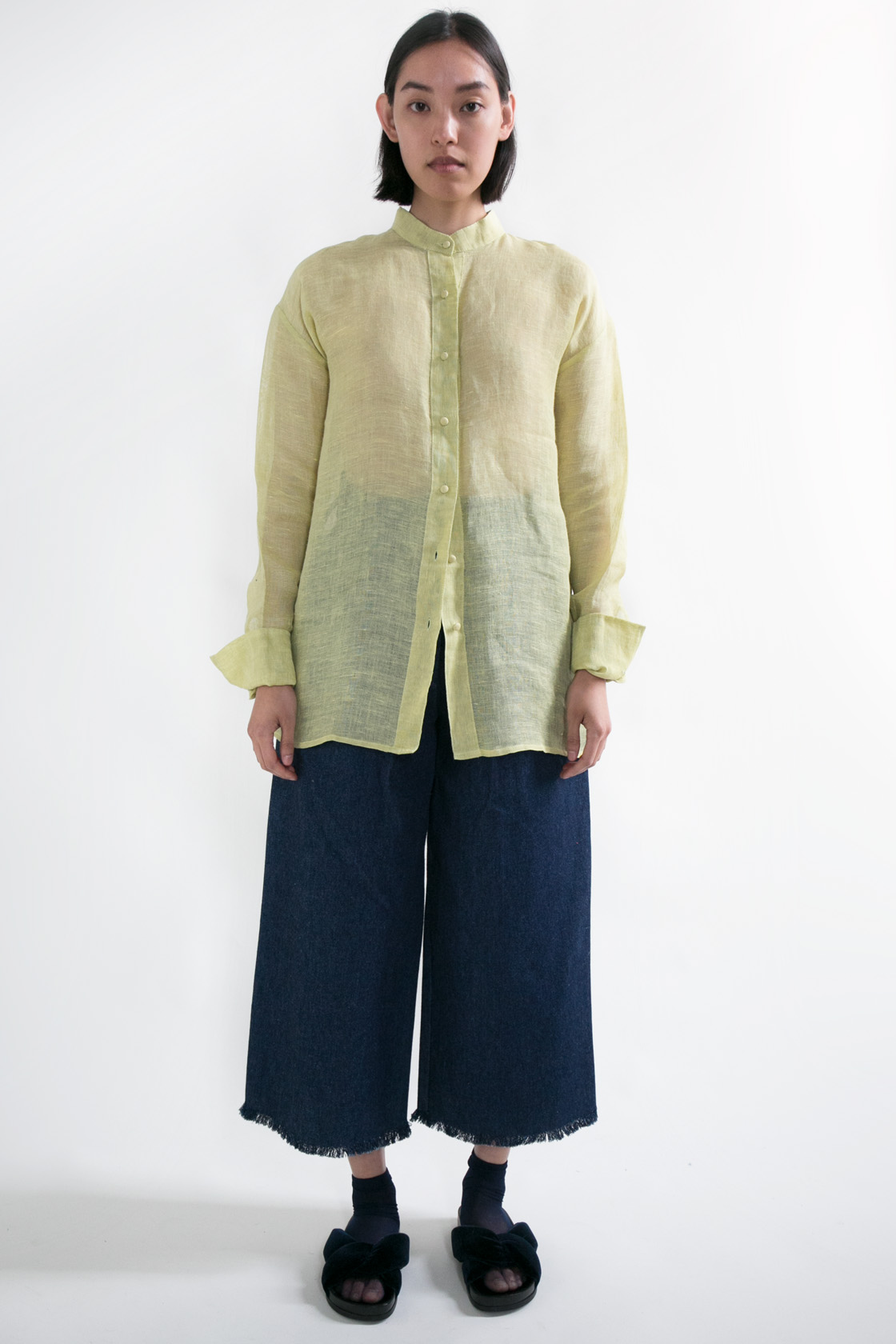 Rusca Linen Button Up  S M  $315