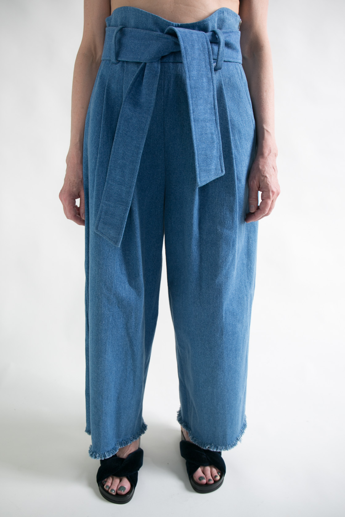 Sona Denim Pant  S M  $325