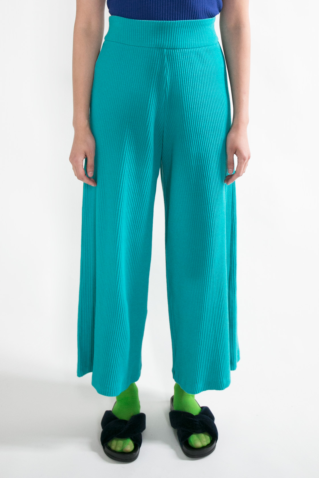 Basic Color Pant in Green  XS S M L  $270