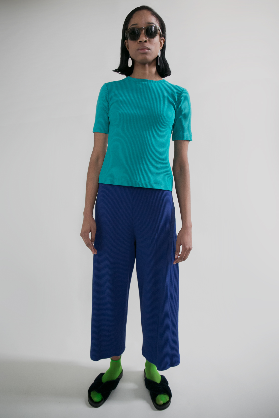 Basic Color Pant in Cobalt  XS S M L  $228