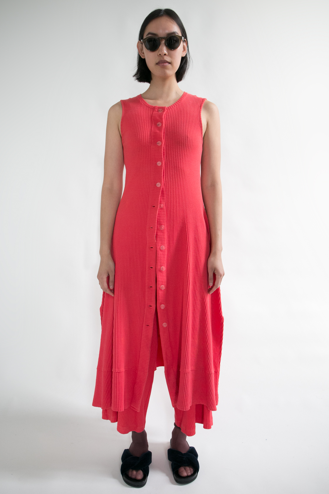 Basic Color Sleeveless Dress III  XS S M L  $288