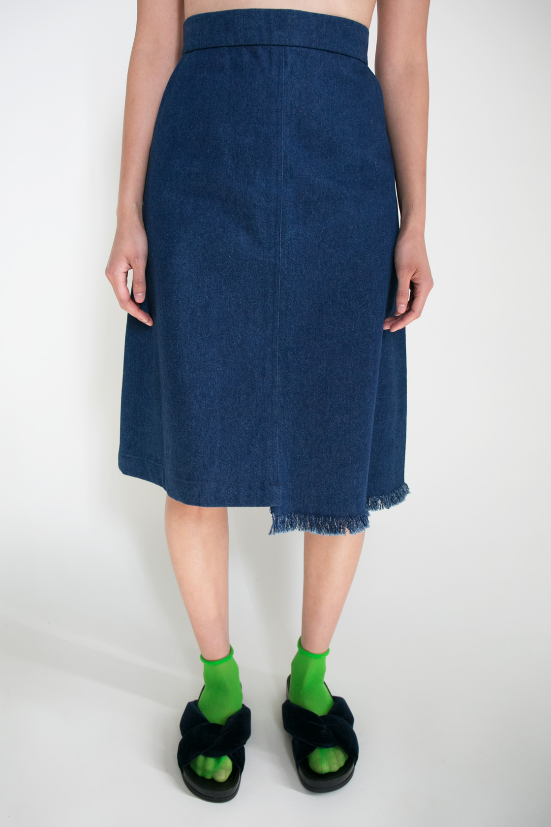 Giro Denim Skirt  XS S M L  $245