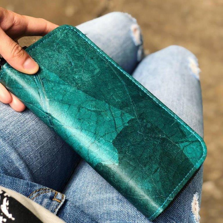 3. Vegan Wallets for Women - Ethical wallets made from the most sustainable materials such as cork, real leaves, pineapple leather and more.