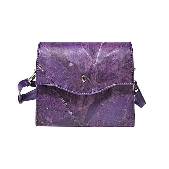 8. Vegan Handbags - Vegan but also sustainable and ethically made bags made from real eco materials such as pinatex, leaves, cork or upcycled garments.Surprise her with a unique environmentally friendly bag!