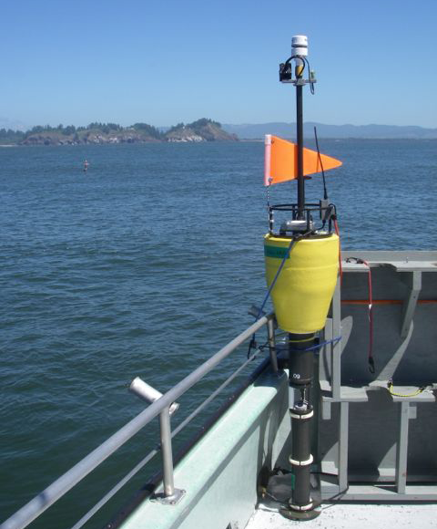 SWIFT buoy on board the campaign vessel