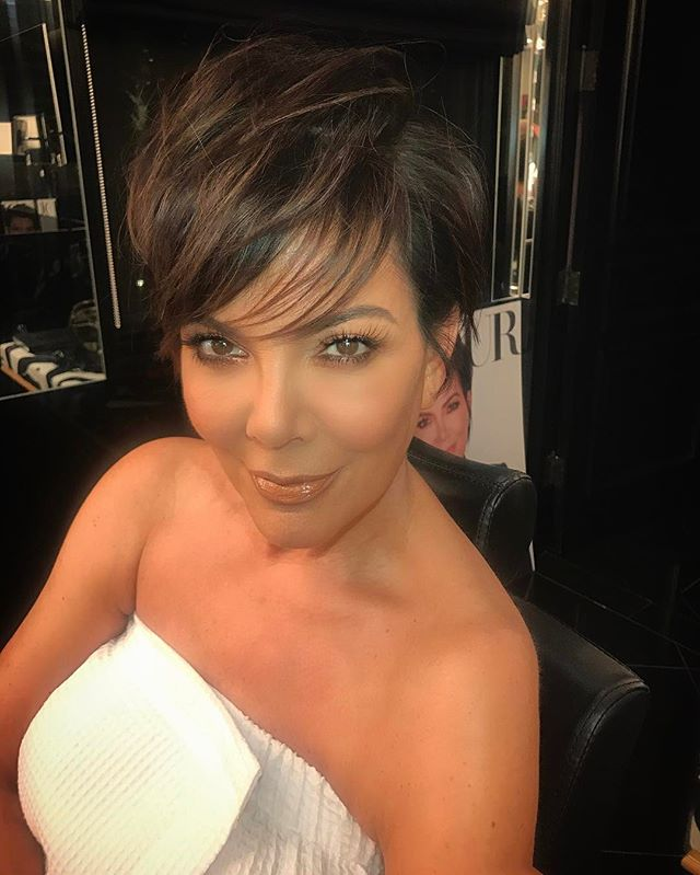 This is how good 530 Am looks! @krisjenner ✨ Hair by @andrewfitzsimons  Makeup @etienneortega