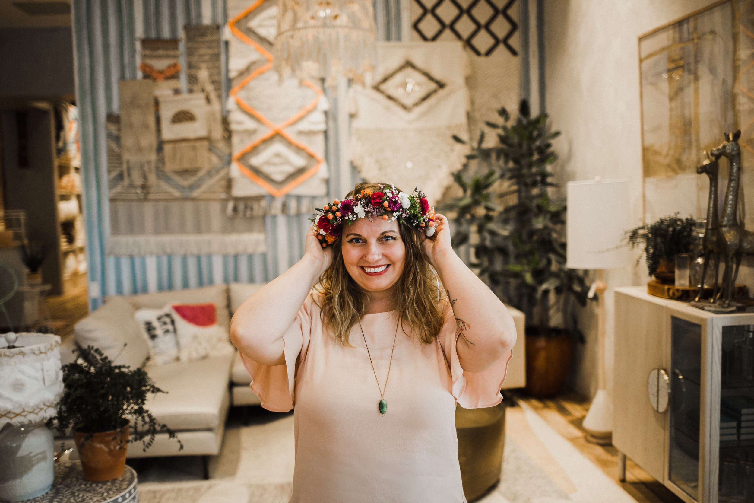 Megan Sauder - I believe we are all created with purpose, and that my purpose is to breathe life, joy, hope, healing, and freedom into people through the creative work that I do.