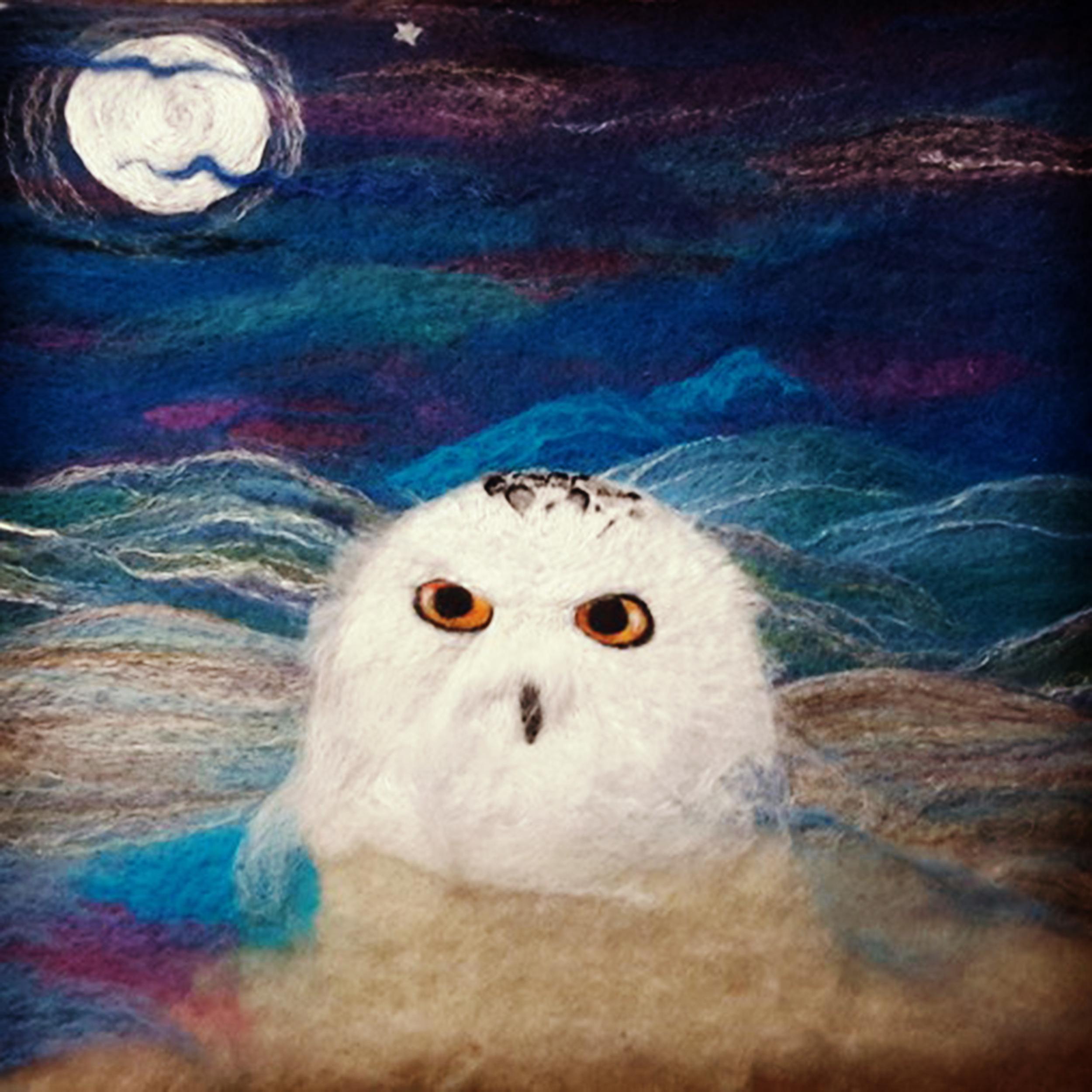 WiP owl tapestry