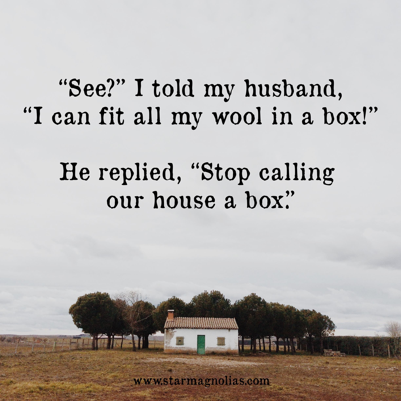 wool in a box meme