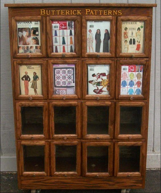 pattern display cabinet