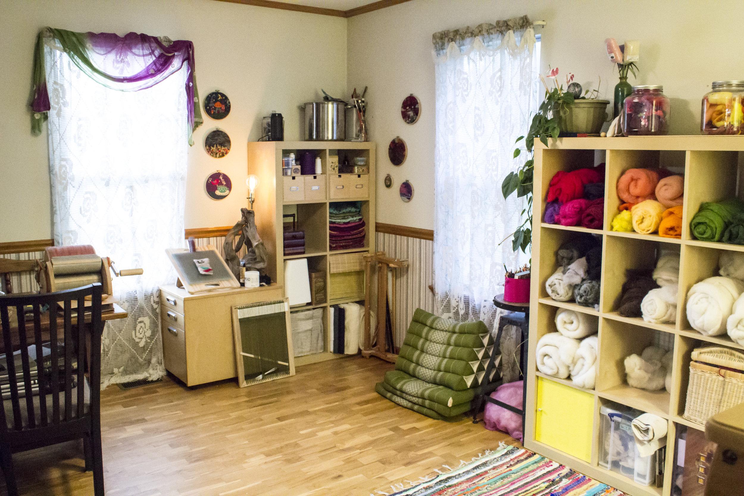 Star Magnolias Fiber Studio 3