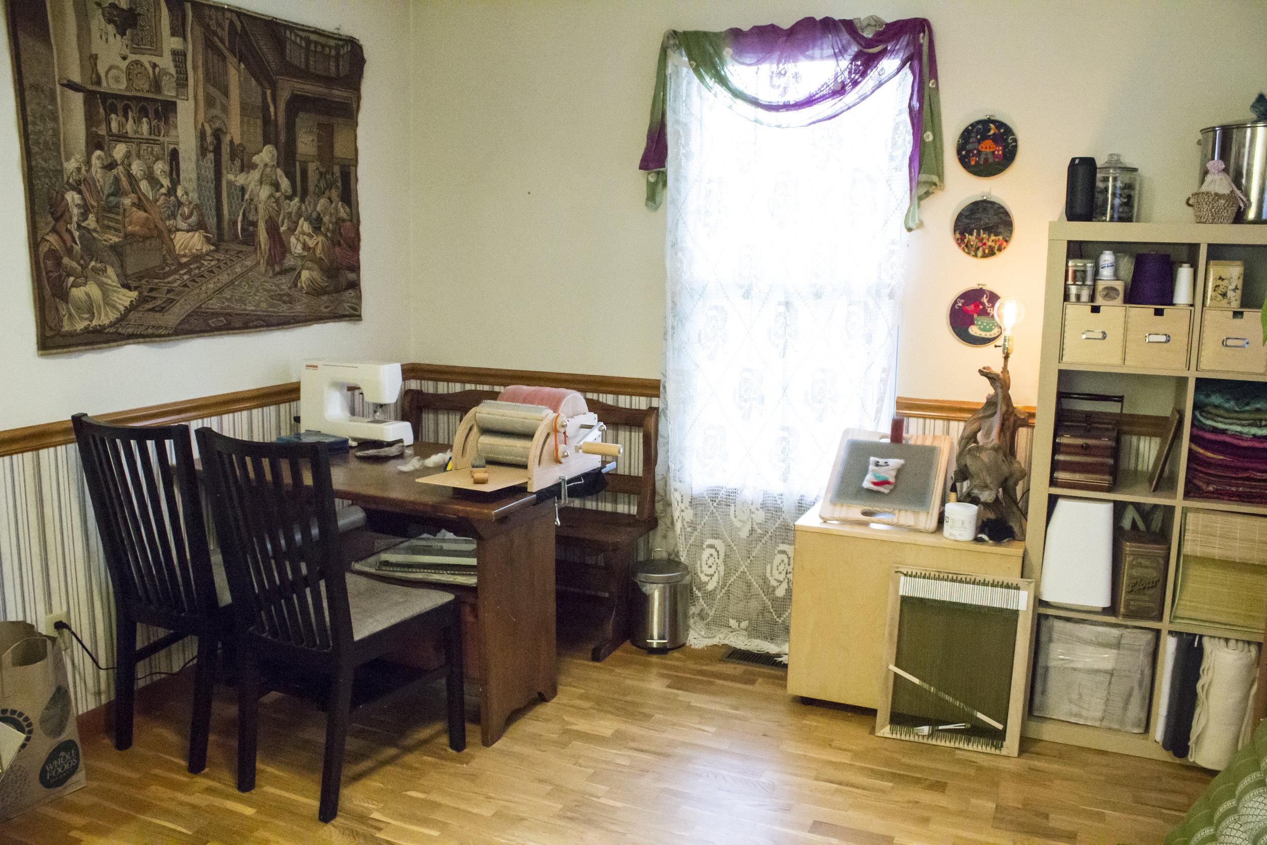 Star Magnolias Fiber Studio Workspace