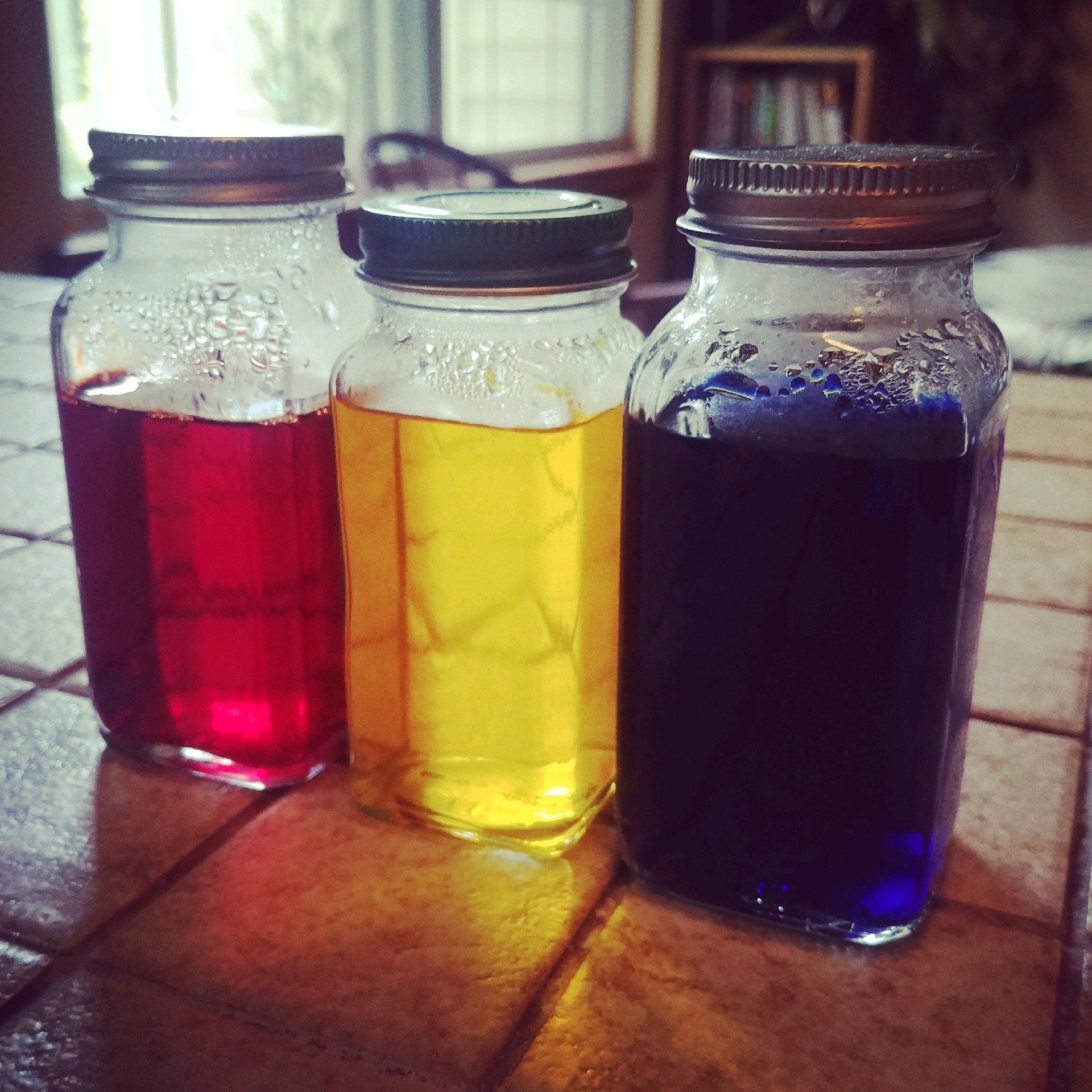 You don't need to buy special jars, anything will do. Even spice jars. You just need something to dissolve your dye.