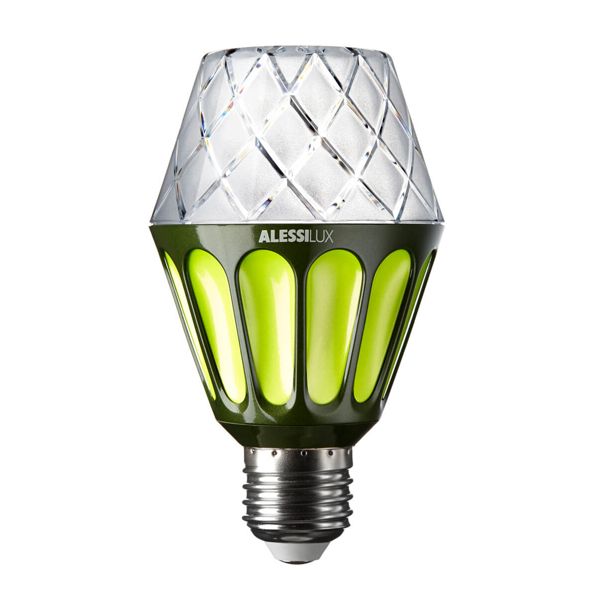 Vienna, LED light bulb for Alessilux green
