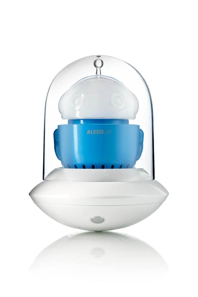 UFO, portable LED lamp for AlessiLux blue