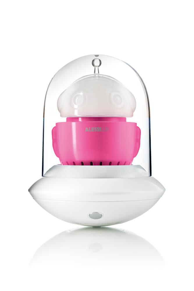 UFO, portable LED lamp for AlessiLux fuccia