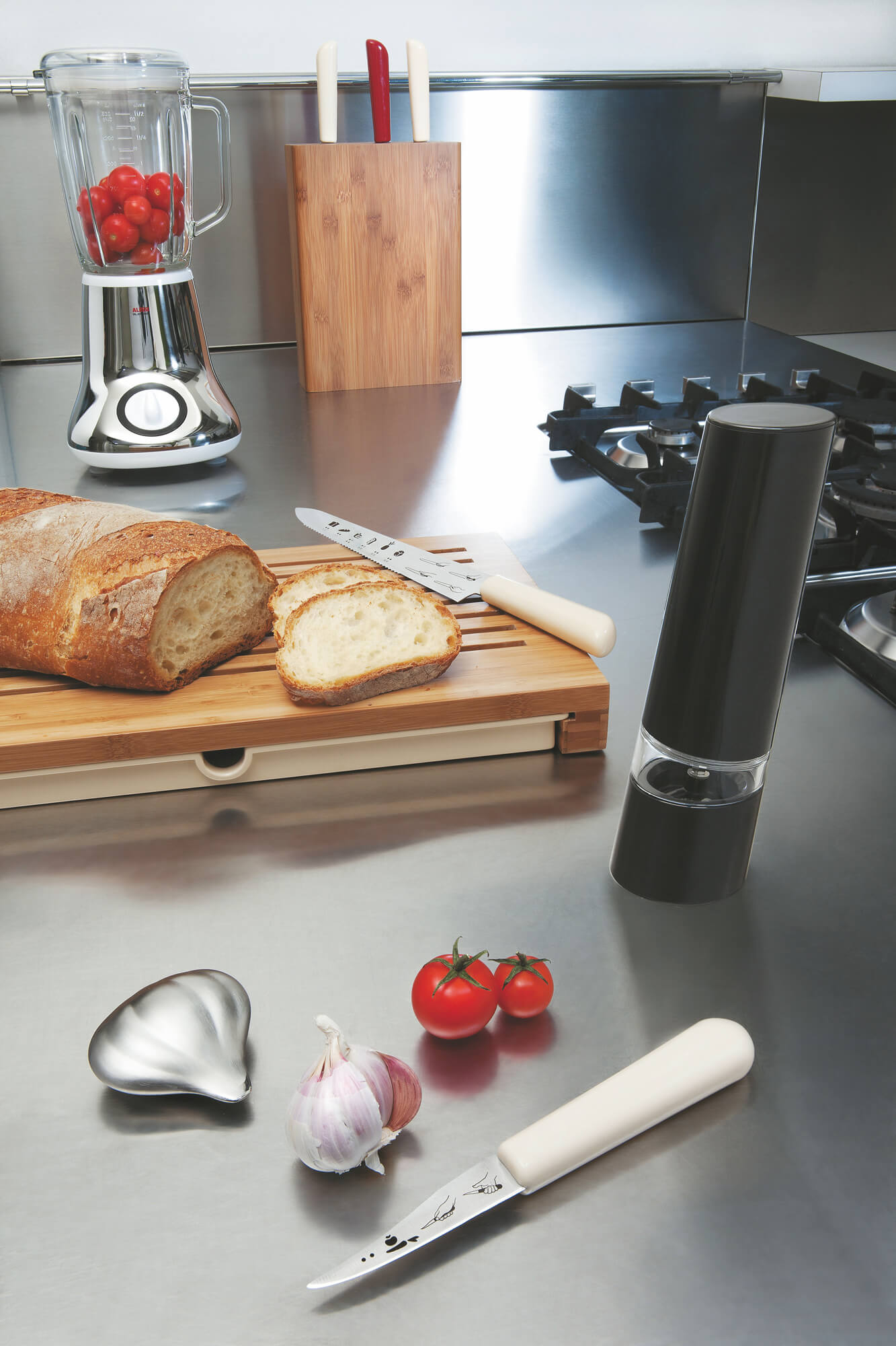 Savon Du Chef, stainless steel soap for Alessi