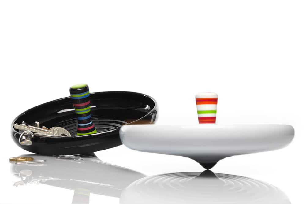 Pirouette, desk organiser for Alessi