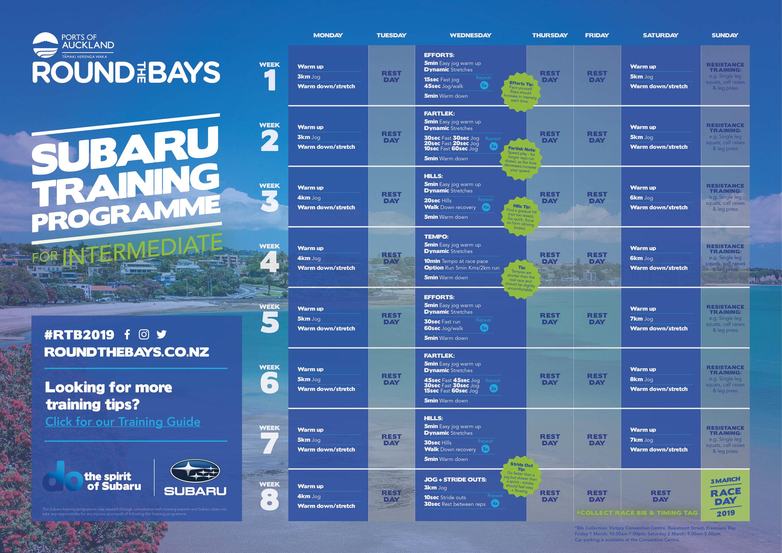 Intermediate Training Programme