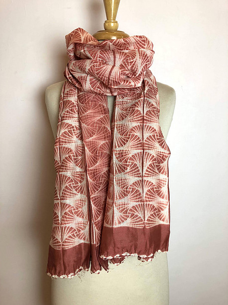 These exceptional scarves are brought to you from the ethical brand  House of Wandering Silk .