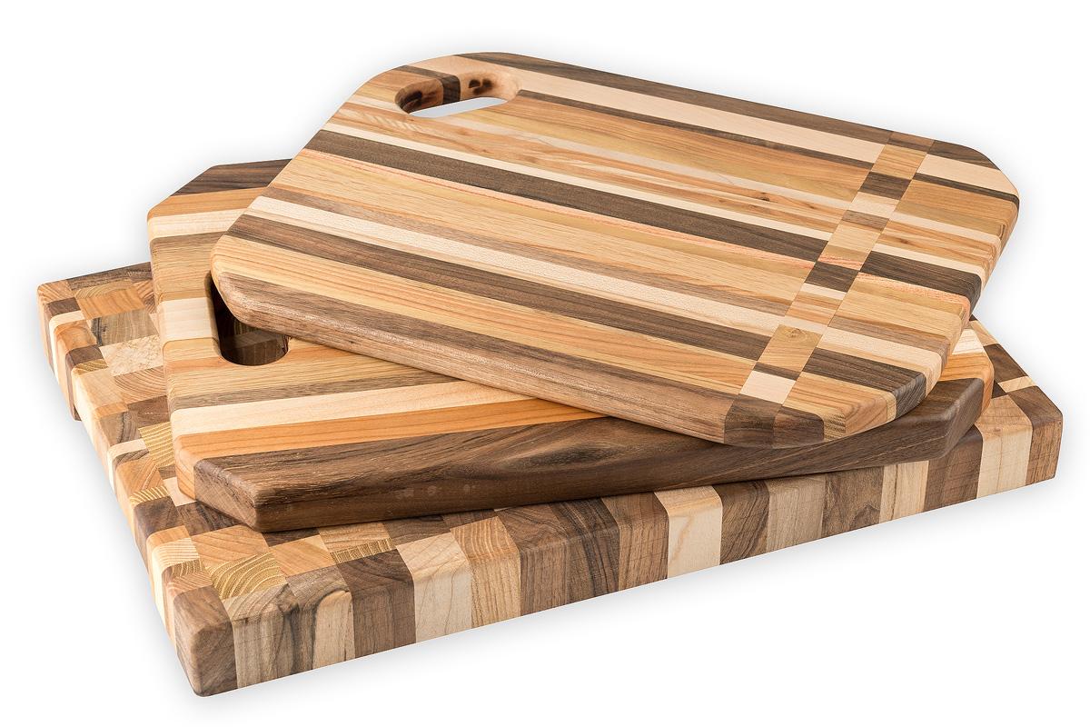 מוצרים - סט קרשי חיתוך מעץ