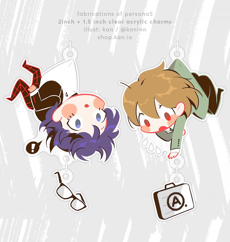 Joker x Goro Akechi Charms 2.0
