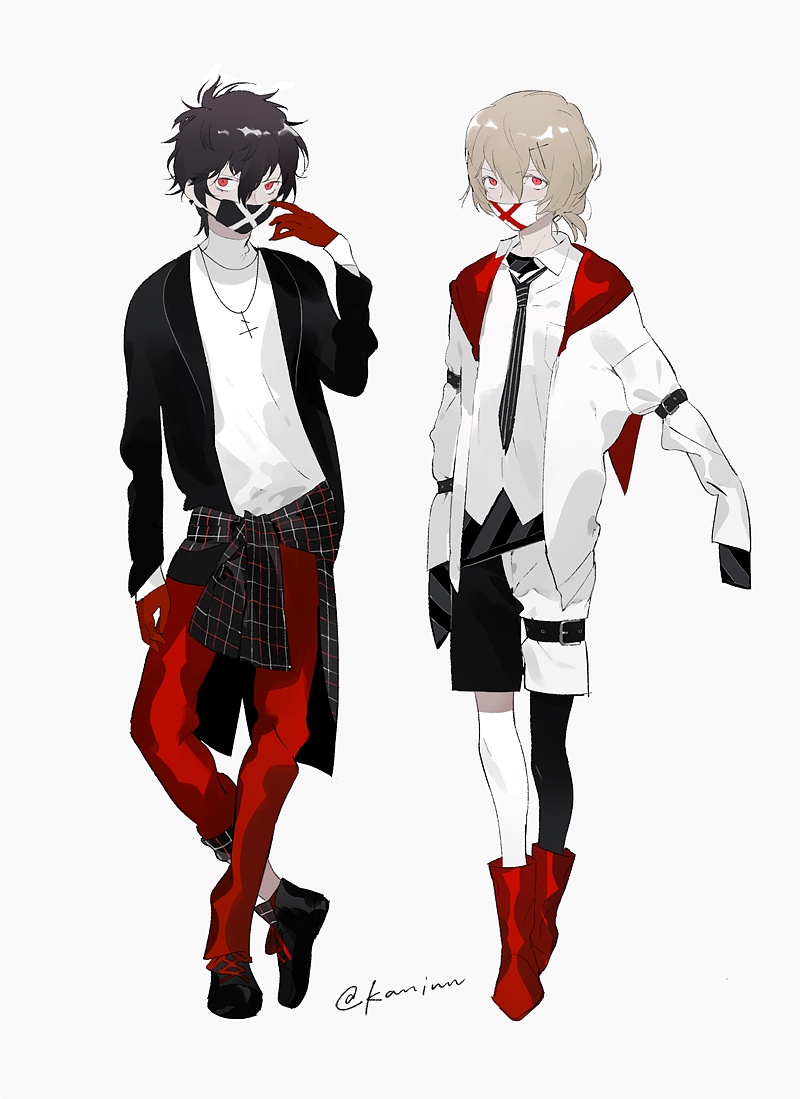 idol outfit design for joker and goro