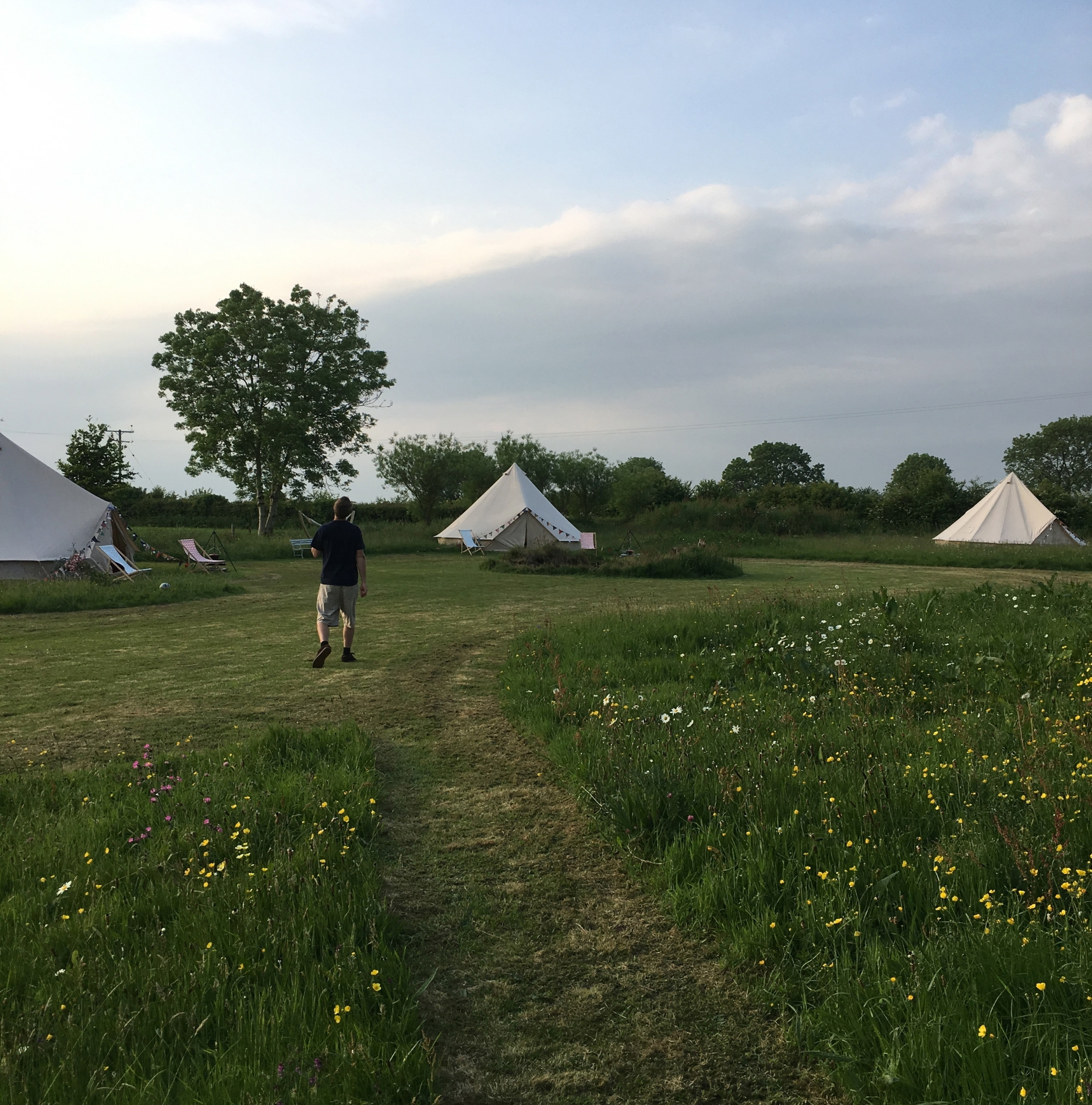 Our glamping site