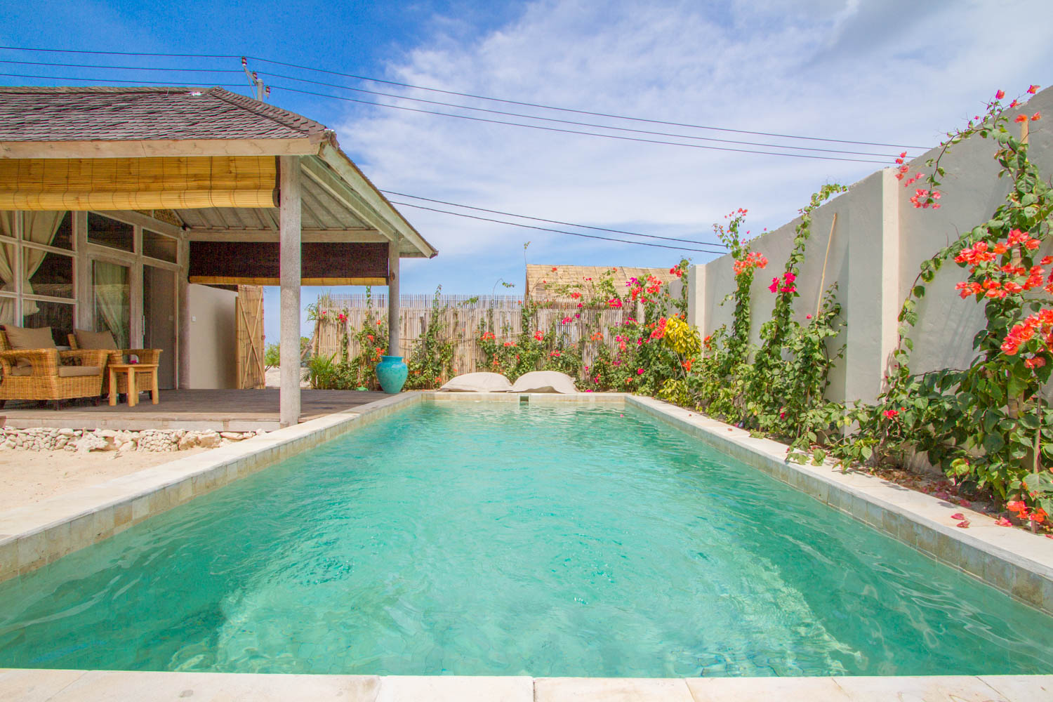 Big private pool - Avia Villa Resort Gili Meno