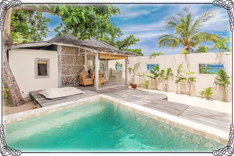 louer une Villa 1 chambre Gili meno avia resort