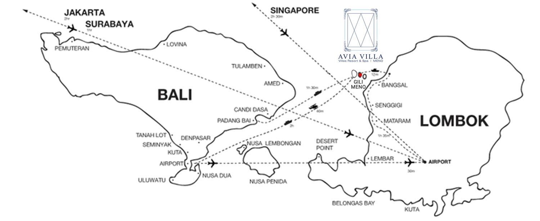 How to go to Gili island?