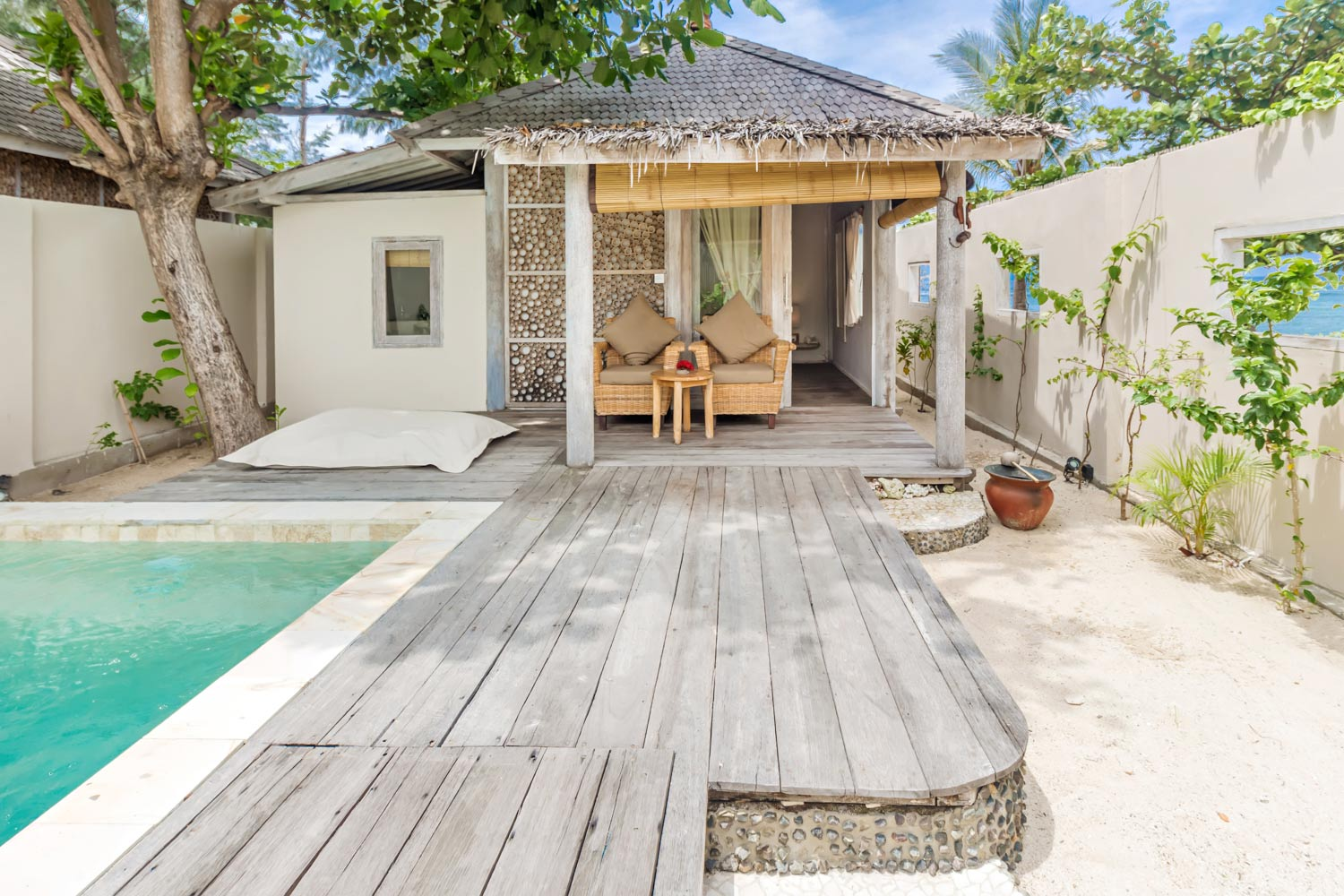Private garden - Gili Meno - Avia Villa Resort