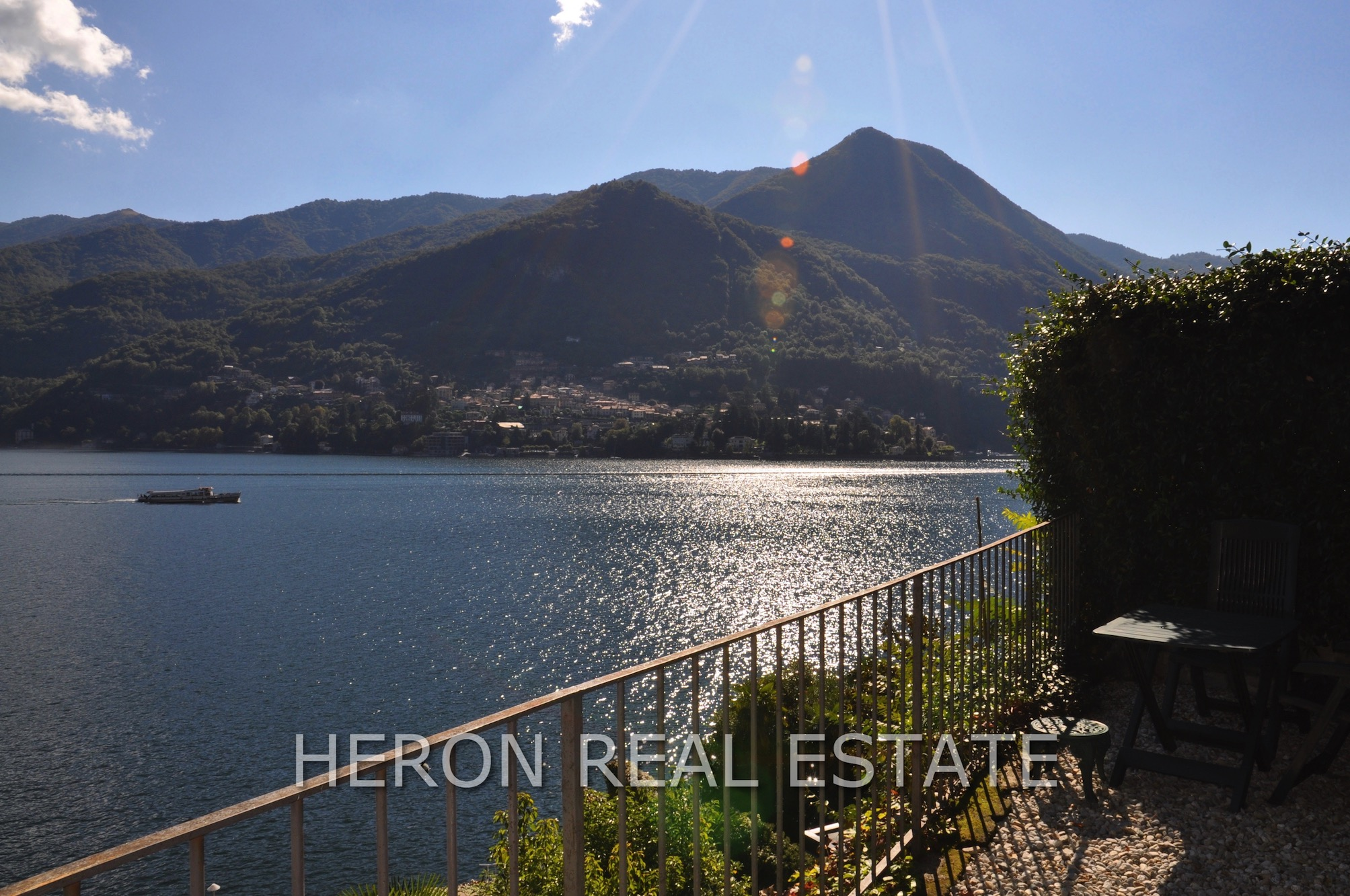 magnificent view of Lake Como