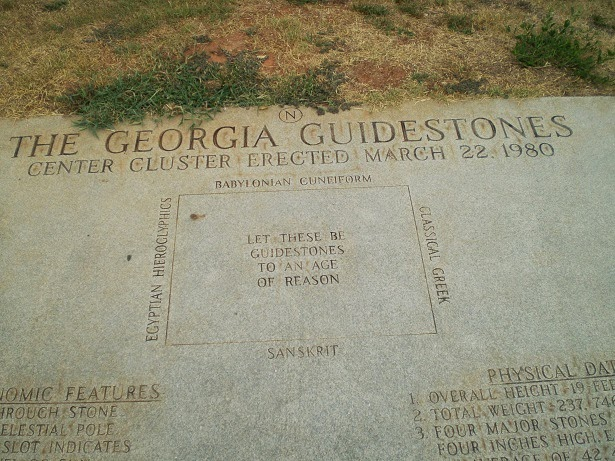 """""""Let These Be Guidestones to an Age of Reason"""""""