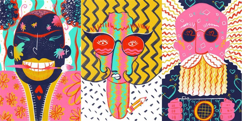 Creative Edinburgh Awards 2017 artwork - Image: Moira Zahra