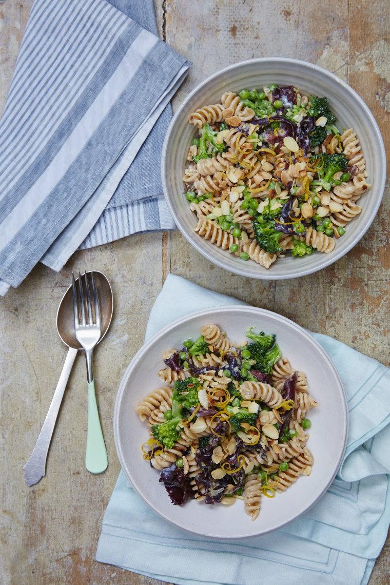 Wholegrain Fusilli pasta with dulse seaweed