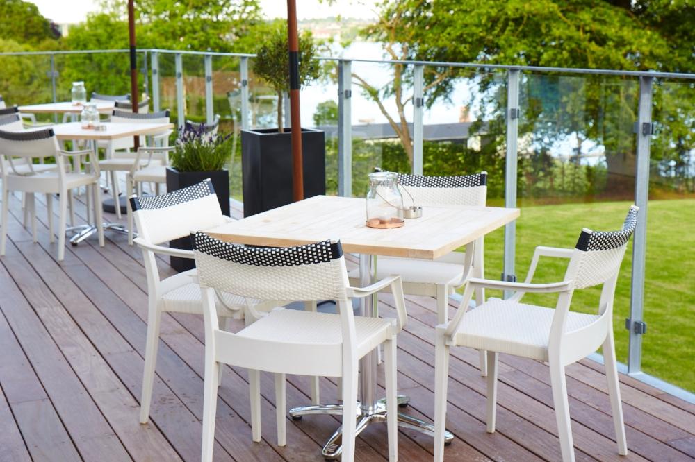 Stella Maris Hotel de Luxe terrassen