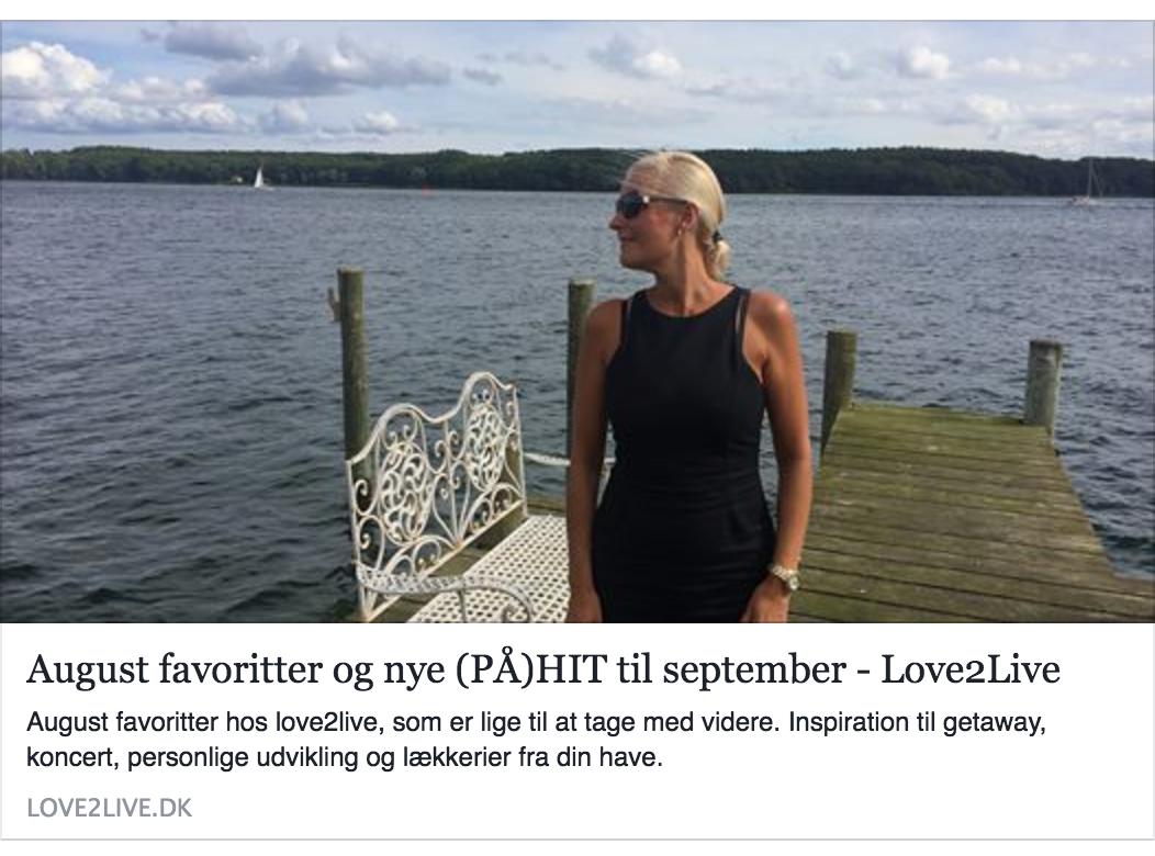 Læs hele Love2Live's blogindlæg hvor hun anbefaler Stella Maris romantiske getaway her