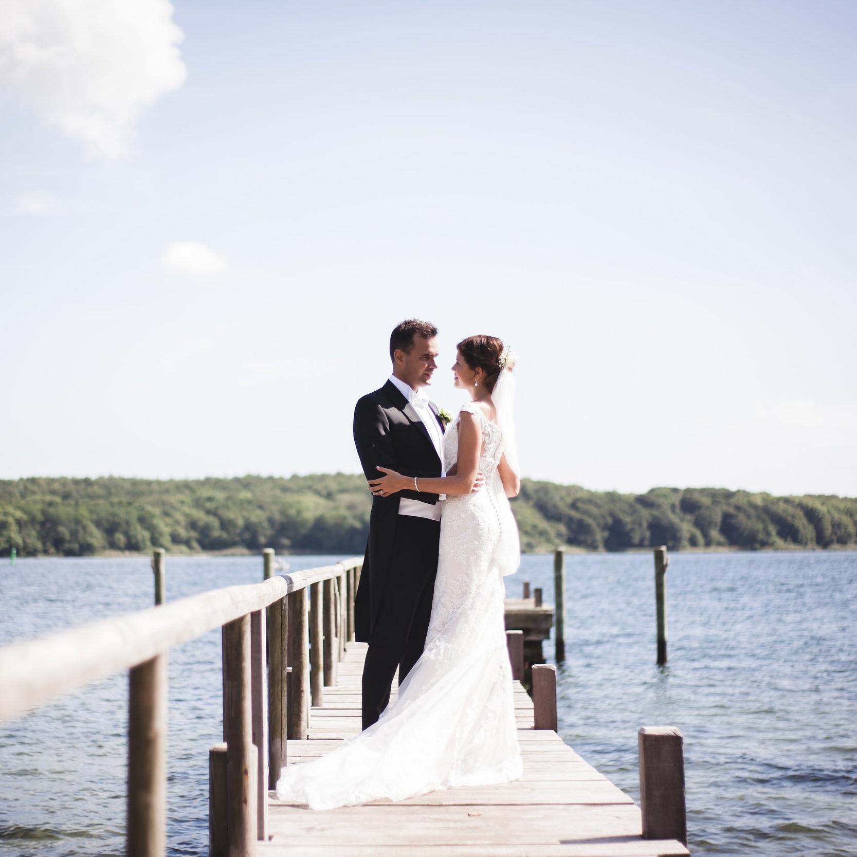 Hold romantisk bryllupsfest på Stella MarisJPG