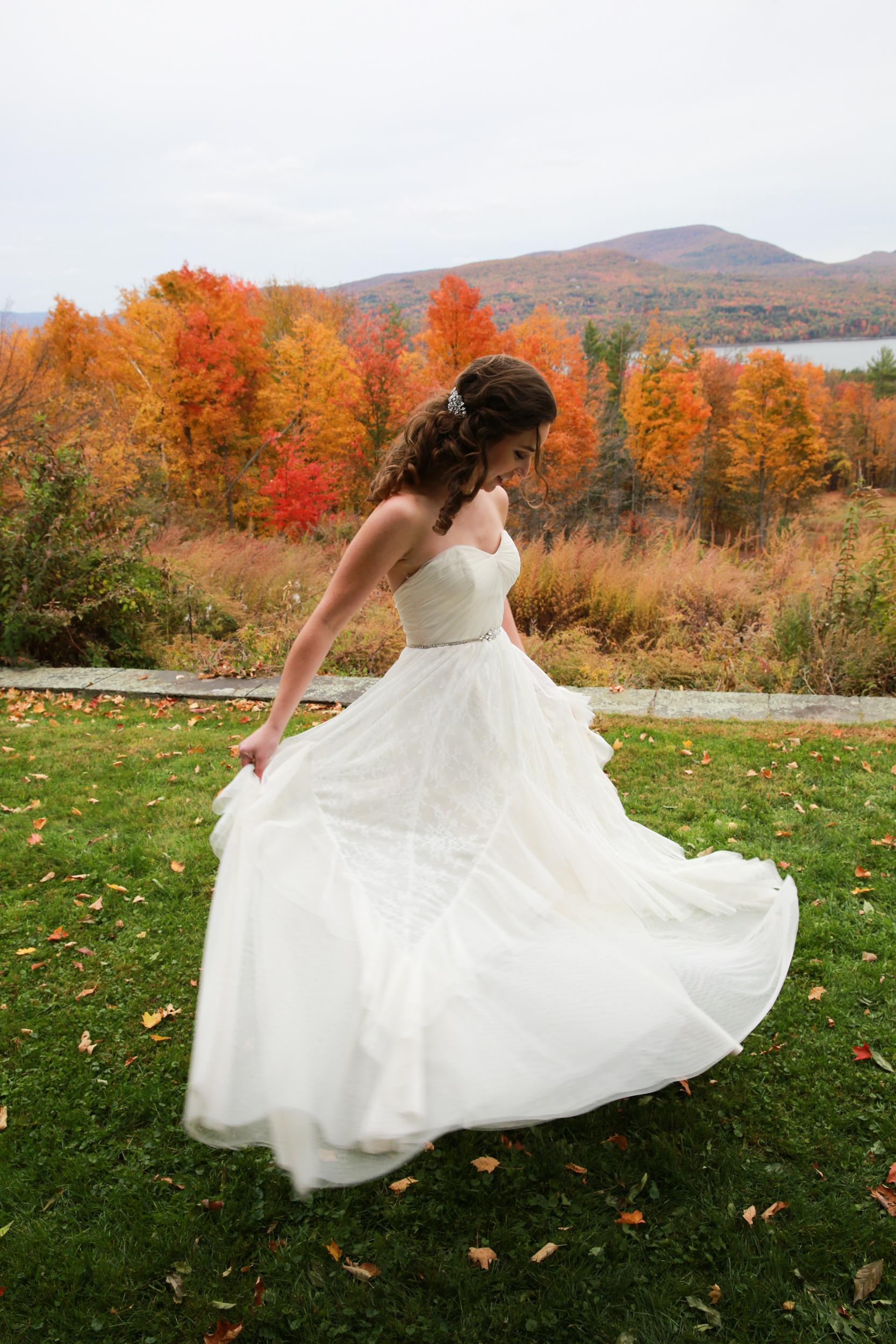 Fall wedding at the Ashokan Dreams