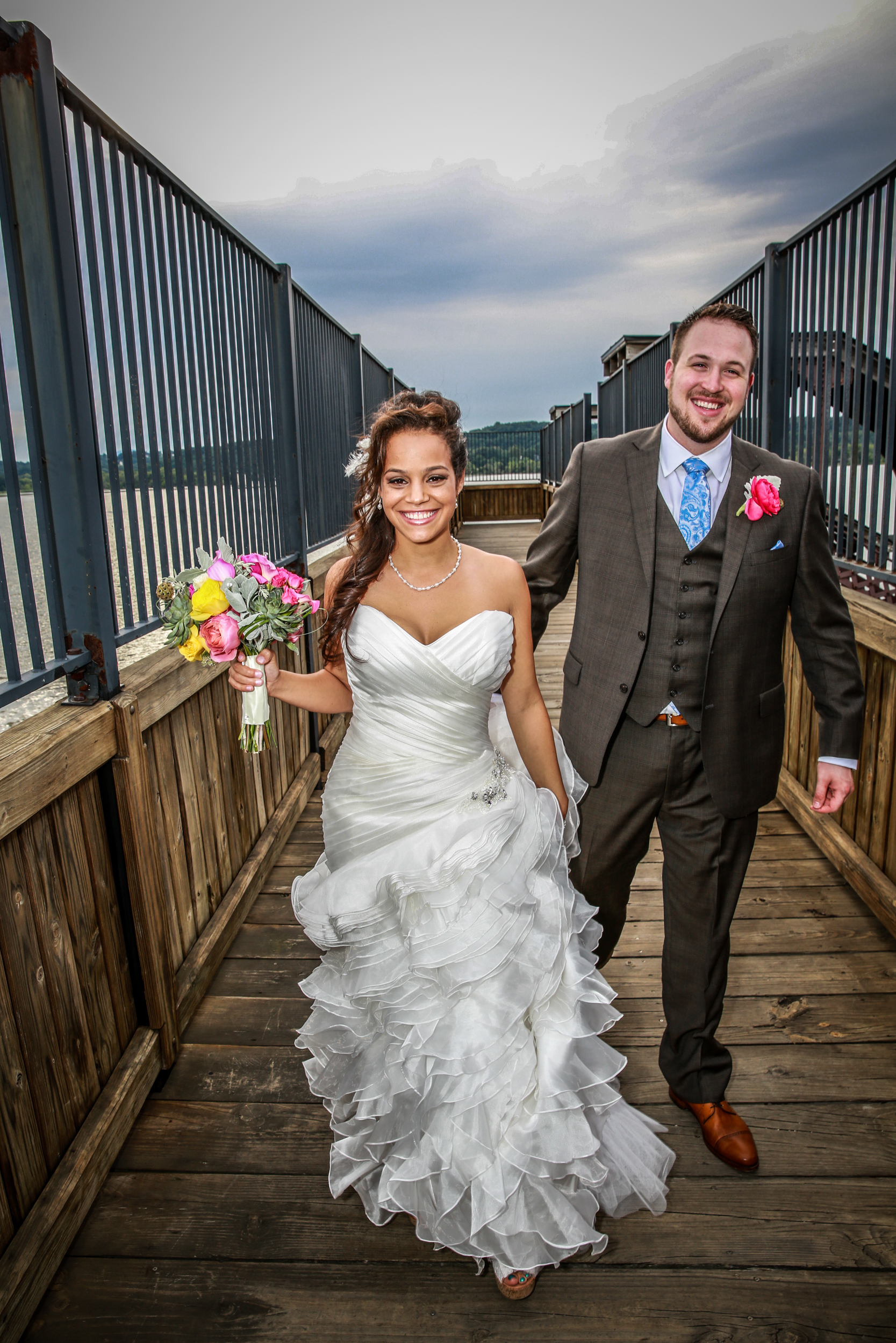 Wedding at the Rhinecliff hotel